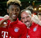 Alaba develops bromance with Ribery