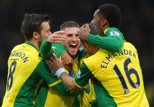 Norwich City 1-1 Swansea City: Hooper stunner saves hosts