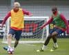 """Marlon treina ao lado de Messi e destaca sonho: """"Sempre acreditei"""""""