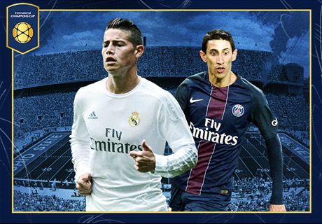 LIVE: Real Madrid vs PSG