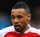 ARSENAL: Coquelin trains at centre-back