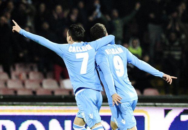 Napoli festigte mit dem Sieg Platz drei