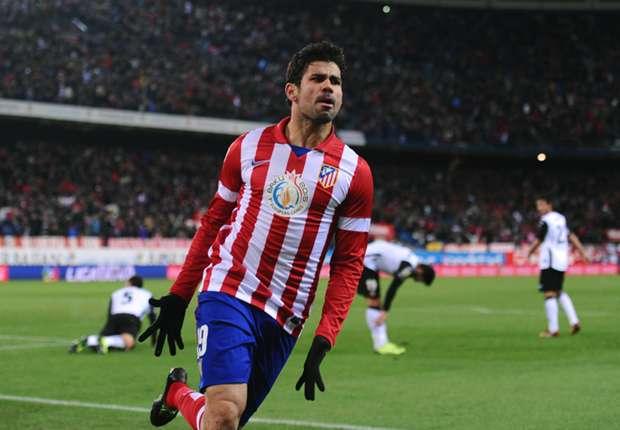 Auf dem Wunschzettel vom FC Arsenal: Diego Costa