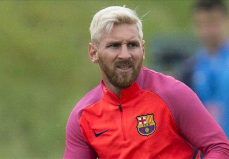 Messi muestra el camino