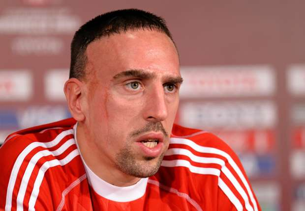Guardiola: Ribery a doubt for Bayern