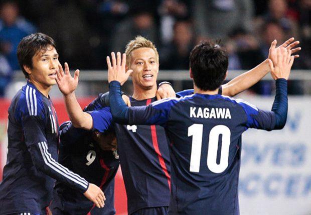 Japón dio a conocer la lista de convocados para el Mundial