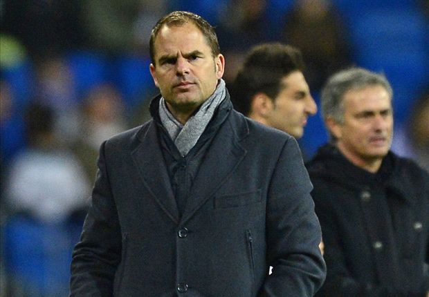 Ajax boss De Boer 'honoured' by Tottenham links
