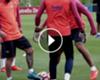► Túnel de Messi a Suárez