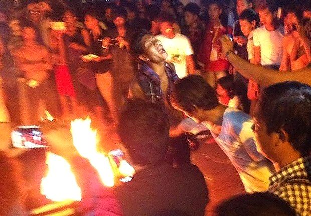 Fans riot after Myanmar exit as coach is sacked