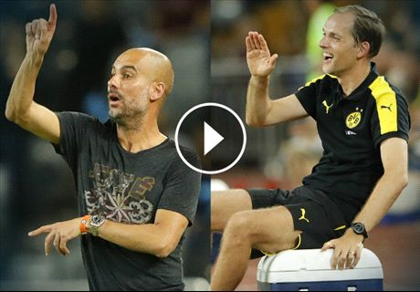 Pep & Tuchel star on the touchline