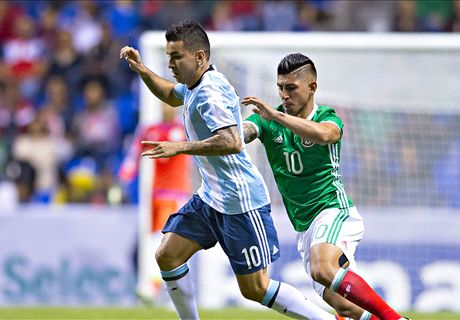 EN VIVO: Argentina 0-0 México