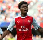 Late Akpom strike seals Arsenal victory
