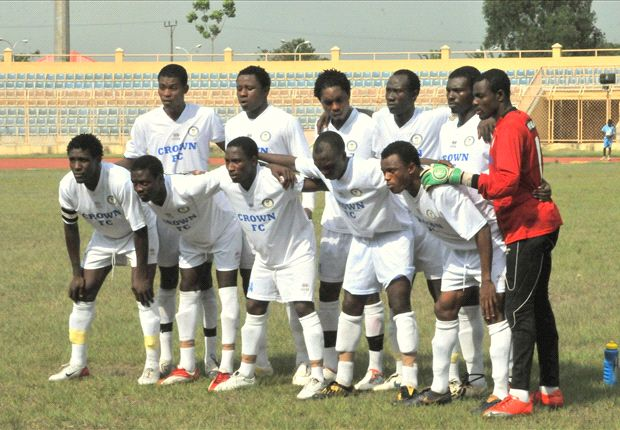 Crown FC gets motivation for Lobi Stars duel