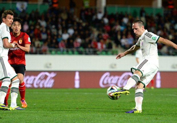 Guangzhou Evergrande 0-3 Bayern Munich: Ribery, Mandzukic & Gotze seal final spot