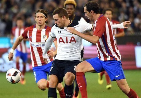 Spurs doen zichzelf tekort tegen Atléti