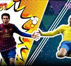 A geração de Messi e CR7 no 'all-star' do Yearbook Battle