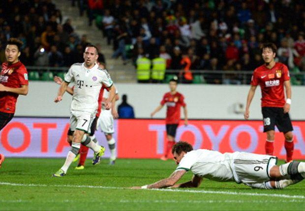 Bayern veel te sterk voor kampioen Azië