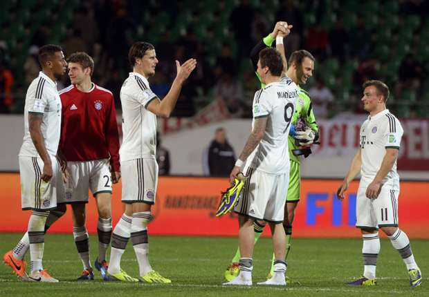 Bayern on another level, says Beckenbauer