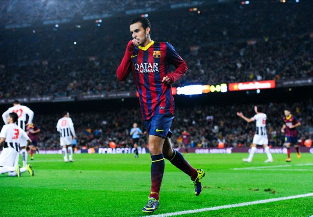 Pedro quiere seguir en el Barça