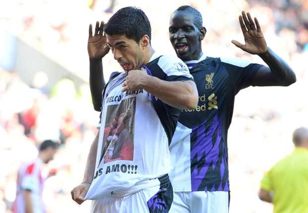 I'm glad I don't play against Suarez, admits Sakho