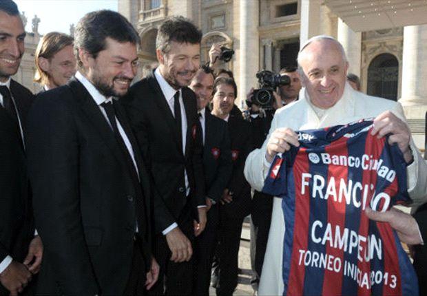 El Papa Francisco es aficionado de San Lorenzo de Almagro
