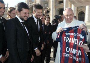 Será que a escolha tem a benção do Papa Francisco?
