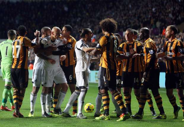 Swansea & Hull fined by FA over player behaviour