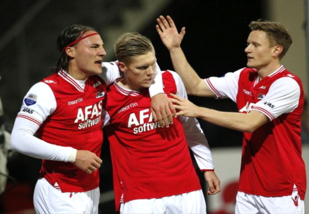 Aron Johannsson scores twice as AZ advances in Dutch Cup