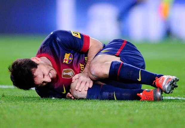 Barcelona: Messi making good progress