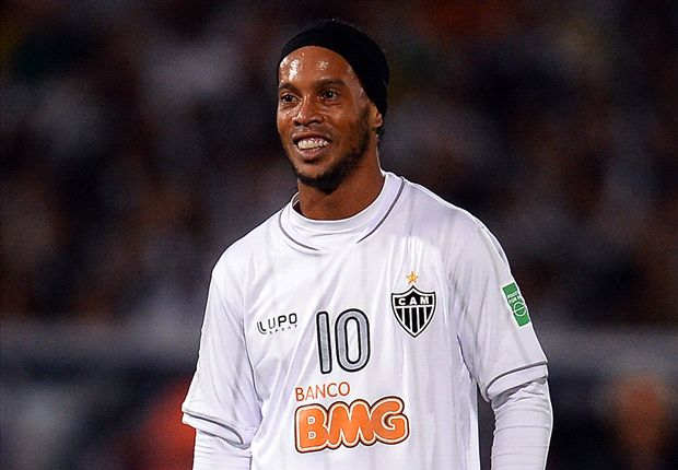 Ronaldinho wants to go out on a high