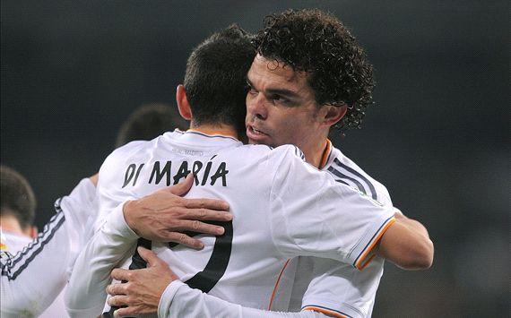 Pepe Angel Di Maria Real Madrid Olimpic Xativa Copa del Rey 12182013