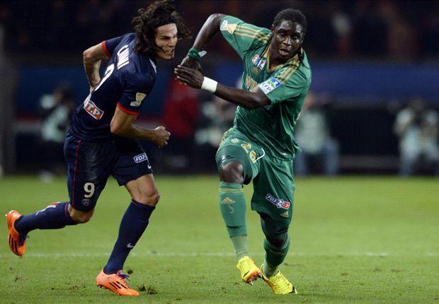 Paris Saint-Germain 2-1 Saint-Etienne (AET): Cavani snatches extra-time winner