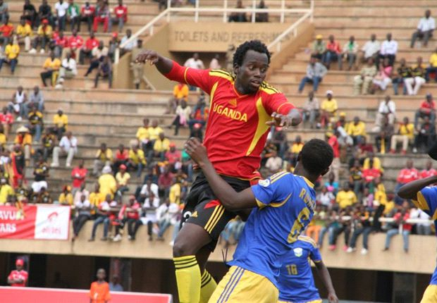 Uganda defender Godfrey Walusimbi turning out for Cranes in Cecafa tournament.