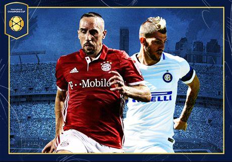 LIVE: Inter v Bayern Munich