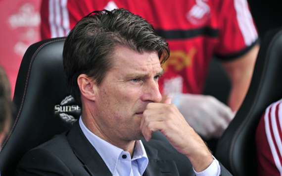 Swansea City manager Michael Laudrup.