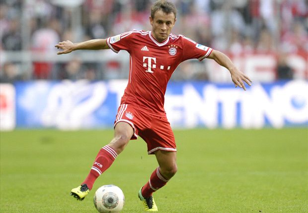 Arsenal are better than last season, Rafinha warns Bayern team-mates