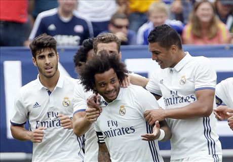 Marcelo nets a brace as Real Madrid win