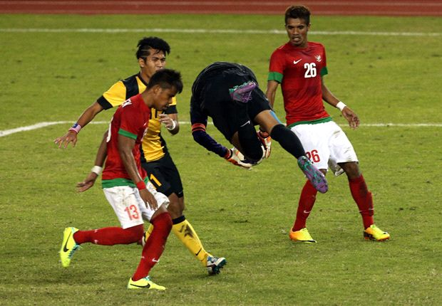 Manahati man-marked the Malaysia strikers out of the game.