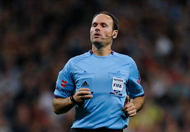 Lahoz je nedavno sudio Manchester City - Monaco