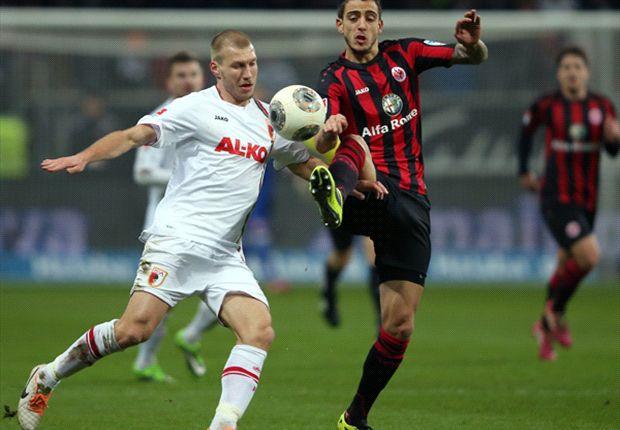 Beim Spiel der Frankfurter gegen Augsburg gabs keinen Sieger