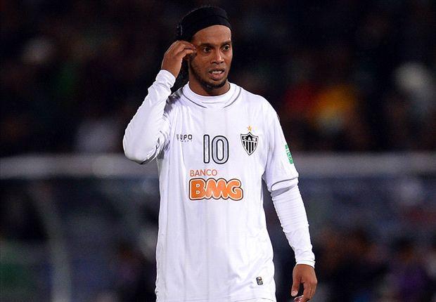 Musste vorzeitig vom Platz - Atleticos Ronaldinho
