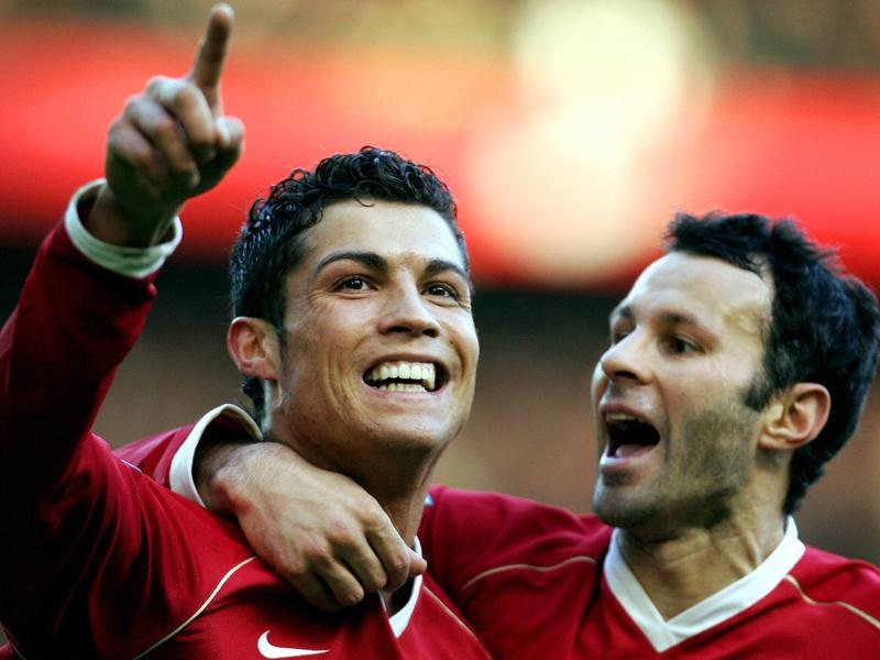 """Giggs : """"Cristiano Ronaldo est le meilleur joueur avec qui j'ai évolué"""""""