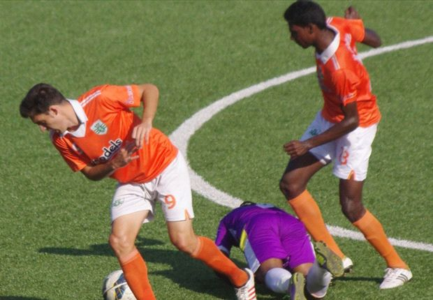 Sporting Clube de Goa 1-0 United Sports Club: Rojen Singh's strike seals three points