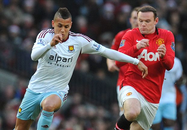 Wayne Rooney Ravel Morrison Manchester United West Ham United Premier League