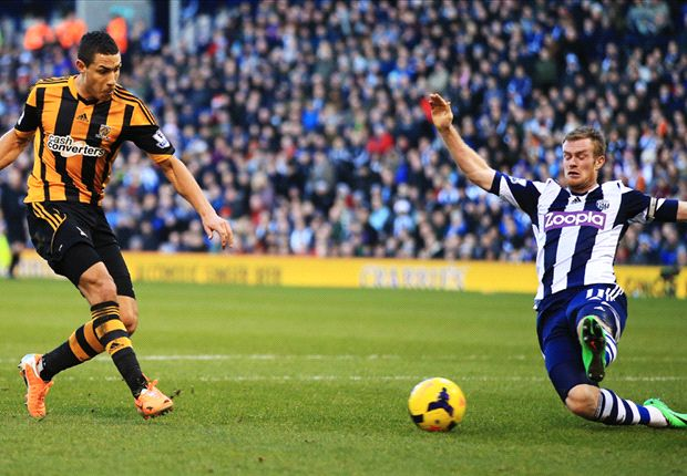 West Brom 1-1 Hull City: Vydra prevents fifth straight defeat for managerless Baggies