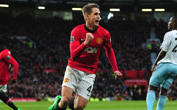 Adnan Januzaj  Manchester United West Ham United Premier League