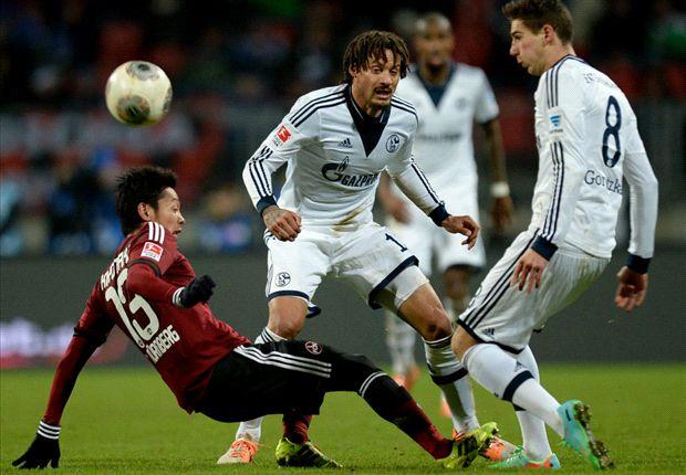 Gegen den 1. FC Nürnberg gab es wieder keinen Sieg. Bei S04 ist man unzufrieden mit 2013.