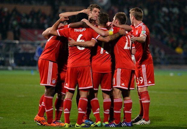 Die Bayern jubeln über den nächsten Titelgewinn