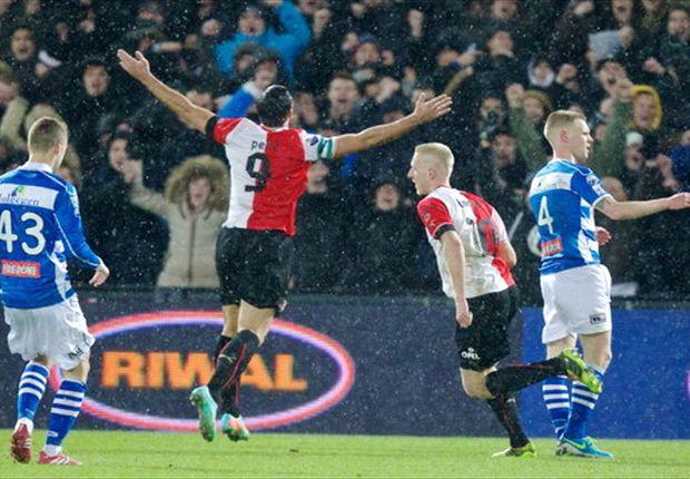 REVIEW Eredivisie: Heerenveen Pesta Gol Di Kandang AZ Alkmaar