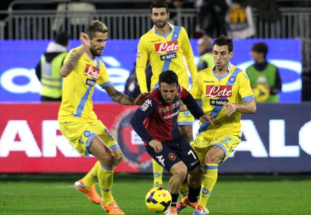 Cagliari 1-1 Napoli: Partenopei held in controversial clash at the Sant'Elia